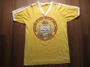 "U.S.NAVY T-Shirt ""NAVAL NUCLEAR POWER SCHOOL""sizeM"
