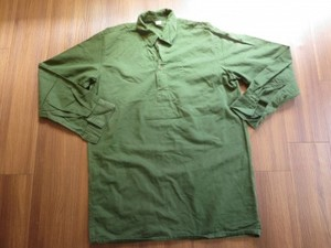Sweden M-55 Shirt Utility size39(M?) used