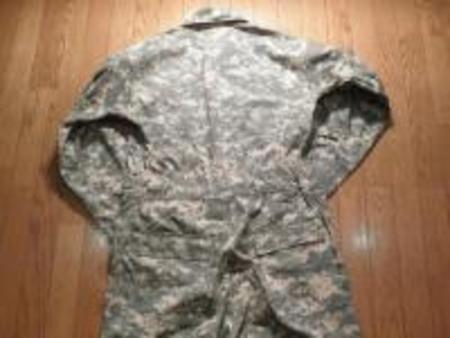 U.S.ARMY Coveralls Mechanics Universal Camo sizeL