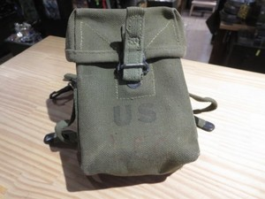 U.S.Pouch SMALL ARMS AMMUNITION 1962年 used