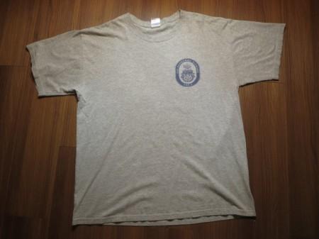 "U.S.NAVY T-Shirt ""USS BONHOMME RICHARD"" sizeL used"