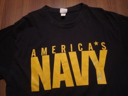 U.S.NAVY T-Shirt sizeL used