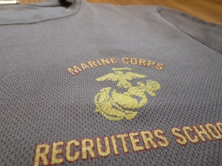 U.S.MARINE CORPS T-Shirt Athletic sizeS used
