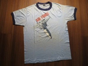 "U.S.AIR FORCE T-Shirt ""F-15 Eagle"" sizeXL used"