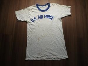 U.S.AIR FORCE T-Shirt Athletic? sizeM? used