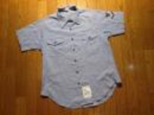 U.S.NAVY Shirt Chambray Women's sizeL used