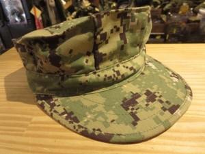 U.S.NAVY Cap Utility NWU TypeⅢ size7 1/8 used