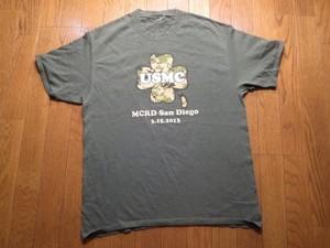 "U.S.MARINE CORPS""MCRD""T-Shirt sizeL? used"