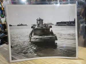 U.S.NAVY OFFICIAL PHOTOGRAPH 1955年