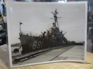 "U.S.NAVY OFFICIAL PHOTOGRAPH ""USS Hopewell"" 1956年"