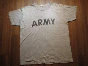 "U.S.ARMY T-Shirt Athletic ""CHAMPION"" sizeL used"