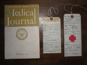 "U.S.ARMED FORCES""Medical Journal 1956年"" used"