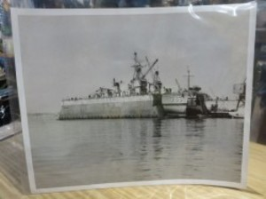 "U.S.NAVY  PHOTO ""USS Richard B. Anderson"" 1970年頃?"