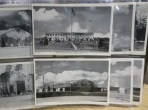 "U.S.POST CARDS ""CAMP PICKETT .VA"" 1940年代?"