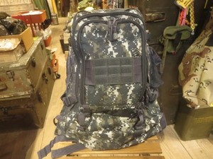 U.S.NAVY Back Pack Adjustable used