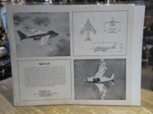 "U.S. Leaflet? ""Bell X-5"" 1960年代頃?"