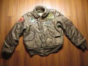 U.S.NAVY CWU-45/P MIL-J-83388B? 1980年代 sizeM? used