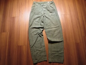 Sweden Field Trousers Cotton? size80cm used