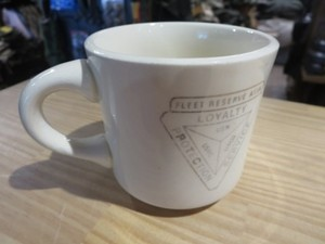 "U.S.Mug ""FLEET RESERVE ASSOCIATION"" used"