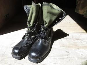 U.S.Boots Combat Tropical 1960年代? size7N new