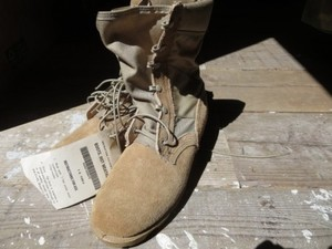 U.S.ARMY Boots Hot Weather Tan 1997年 size7R new