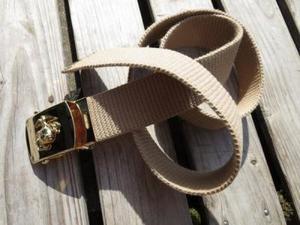 U.S.MARINE CORPS Belt Brass Buckle used