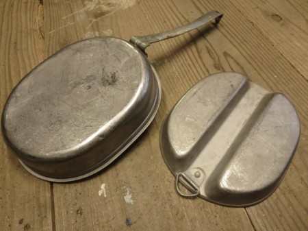 U.S.Can Meat Stainless Steel 1944年 used