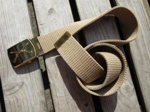 """U.S.ARMY Belt Brass""""INFANTRY"""" Buckle used"""