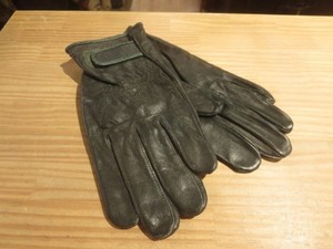 JAPAN SELF-DEFENSE FORCE Gloves Leather sizeS?M?