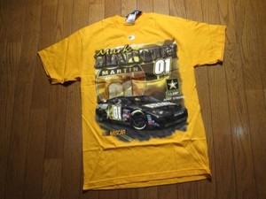 """U.S.ARMY T-shirt """"NASCAR"""" 2007年? new? sizeM"""