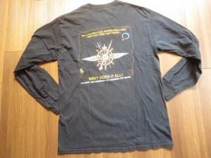 U.S.NAVY T-Shirt Long Sleeves sizeM used