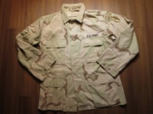 U.S.ARMY Coat 3Color Desert sizeM-R? used
