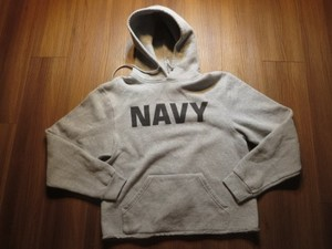 U.S.NAVY Hooded Parka sizeM(S?) used