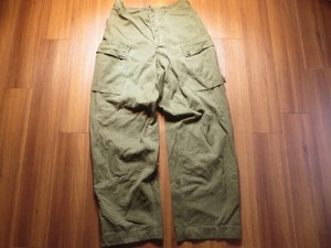 Holland Field Trousers HeavyWeight 1958年 size88cm