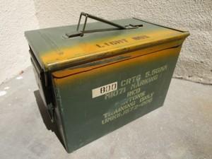 U.S.Ammunition Box Medium used