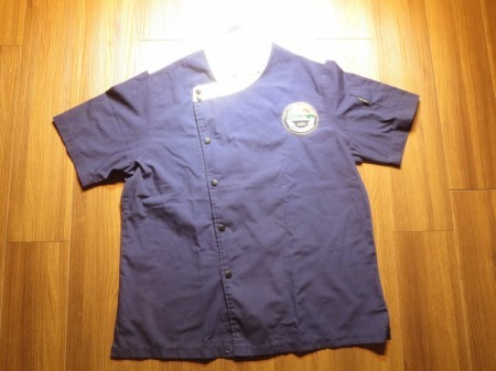 "U.S.NAVY Umiform Cook Shirt ""YOKOSUKA"" sizeM used"