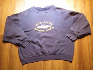 "U.S.NAVY Sweat ""SUBMARINE VETERAN"" sizeL used"