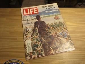 "U.S.Life誌 ""MARY MARTIN"" 1965年 used"