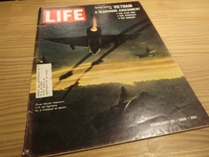"U.S.Life誌 ""VIETNAM ASSESSMENT"" 1966年 used"