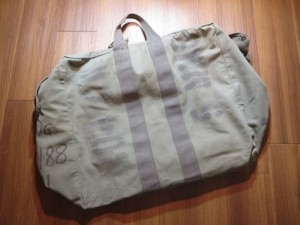 U.S.AIR FORCE Kit Bag Flyer's Cotton 1981年? used