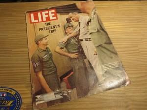 "U.S.LIFE誌 ""PRESIDENT'S TRIP"" 1966年 used"
