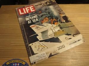 "U.S.LIFE誌 ""USS FORRESTAL"" 1967年 used"