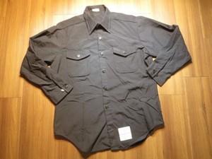 U.S.NAVY Shirt Poly/Wool 1998年 size16 1/2 used