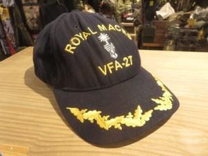 "U.S.NAVY Cap ""VFA-27 ROYAL MACES"" used"