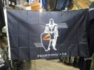 "U.S.NAVY Flag ""BLACK KNIGHTS VFA-154"" new?"