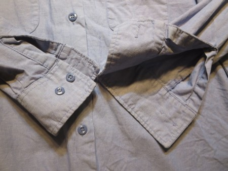U.S.NAVY Shirt Chambray Women's size18 used