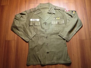 U.S.ARMY Jacket(Shirt) Cotton 1953年 sizeS used