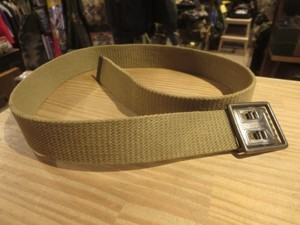 U.S.ARMY Web Belt M-1937? 1940年代 Cotton 約85cm