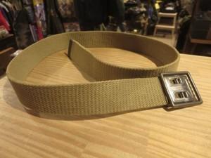 U.S.ARMY Web Belt M-1937? 1940年代 Cotton 約85cm