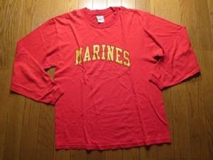 U.S.MARINE CORPS T-Shirt LongSleeves sizeM used